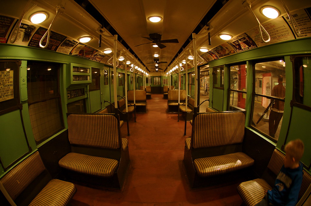Old Subway Car At The Ny Transit Museum Ann Althouse