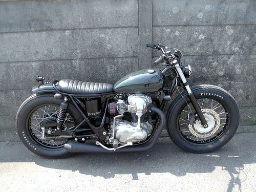 W650 Bobber Built By Bratstyle 3