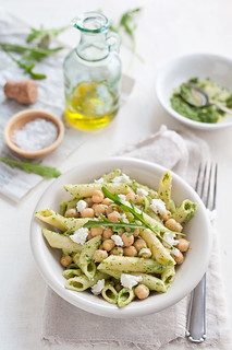Rocket pesto penne | by Sarka Babicka Photography
