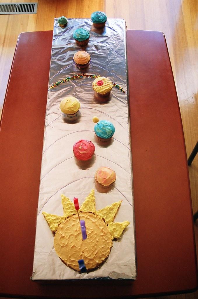 3d solar system birthday cake - photo #44