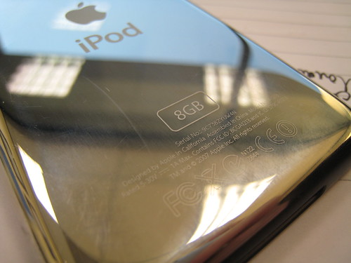 iPod touch back | by Titanas