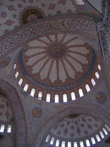 The Blue Mosque, Istanbul, Turkey - ceiling detail | by caspermoller