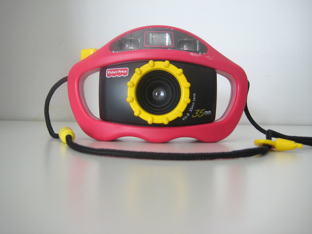 Fisher Price Toy Camera | Goodwill. Haight St. Five dollars.… | Flickr