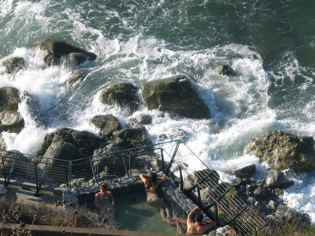 Natural Hot Springs Near Big Sur