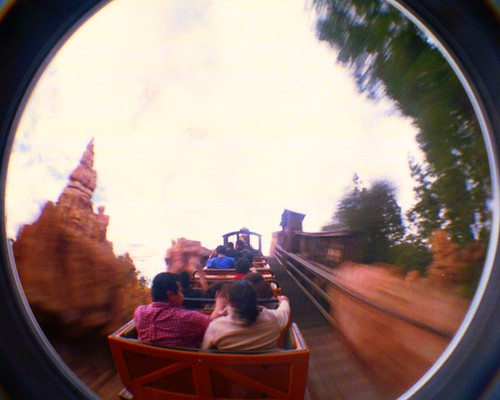Ascending the peaks in Big Thunder Railroad | by lslphoto