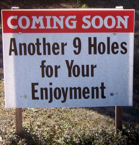 Coming Soon - Another 9 Holes for Your Enjoyment | by SA_Steve