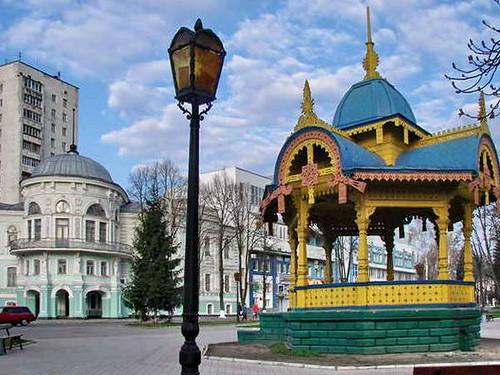 Sumy, Ukraine. Altanka...
