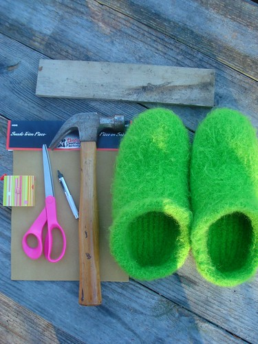 Make your own slipper soles! | by MandyPowers