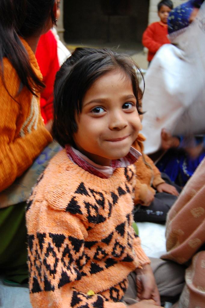 Young Village Girl - Majulgon, Uttar Pradesh, India  Flickr-8747