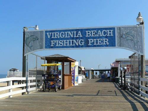 Virginia beach fishing pier i know i 39 ve taken this for Va beach fishing
