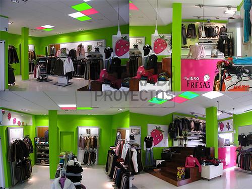 Dise o de interiores tienda de ropa quiero fresas matias for Diseno interiores 3d