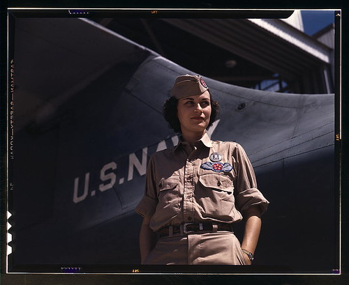 Mrs. Eloise J. Ellis has been appointed by civil service to be senior supervisor in the Assembly and Repairs Department at the Naval Air Base, Corpus Christi, Texas. She buoys up feminine morale in her department by arranging suitable living conditions fo | by The Library of Congress