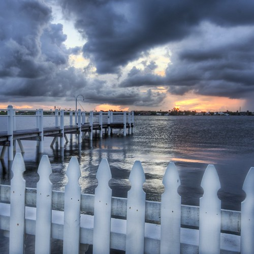 The Worn Picket Fence | by Stuck in Customs