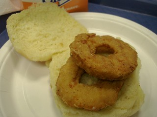 chicken ring sandwich white castle midtown nyc