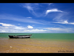 23.790 Views!!  Thanks!! / Anchored in Calm Waters / Ancorado em Águas Mansas / Foto no The World's Best Photos of Blue and Ocean / Bahia / Nordeste / Nature / Brazil / Brasil | by Gutemberg Ostemberg