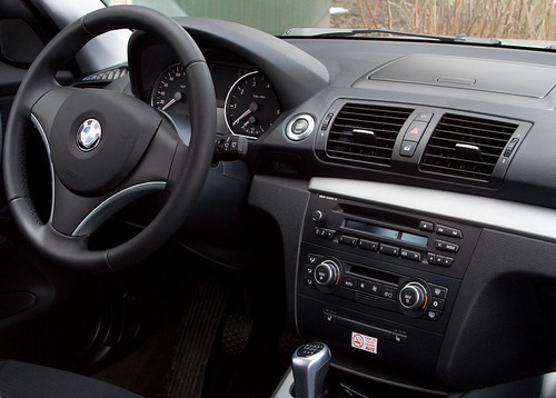 Bmw 116i Interior First Attemps In Car Photography Strobi Flickr
