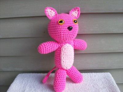 Pink Panther Amigurumi ??? What s New Pussycat ...
