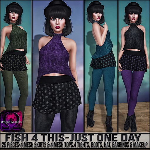 Sn@tch Fish 4 This-Just One Day Vendor Ad SM