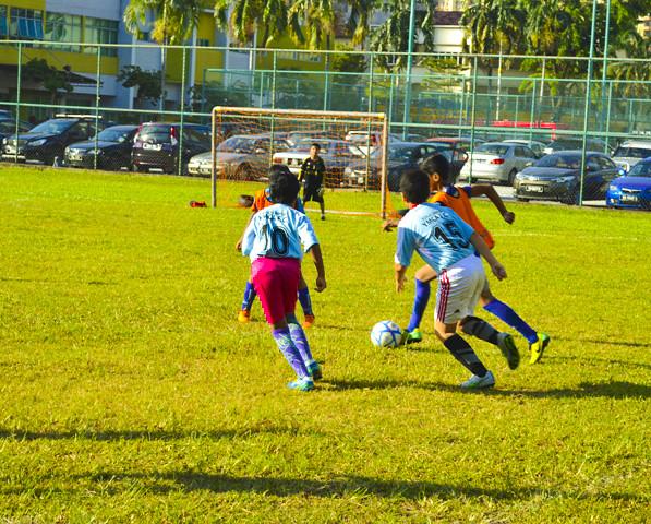 YMCA KL Football School: Friendly Match Feb 2017