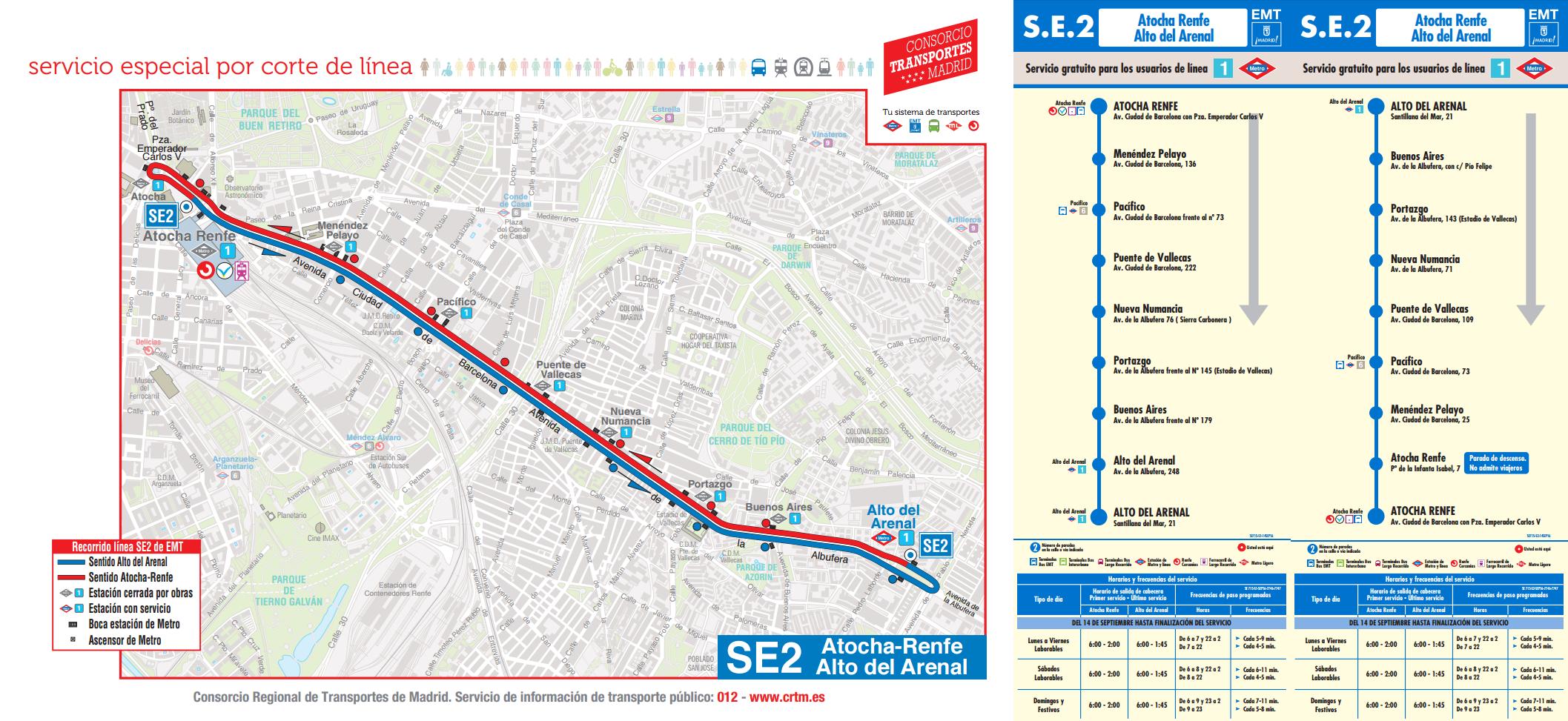 Reabren Algunas Estaciones De La Línea 1 De Metro De Madrid