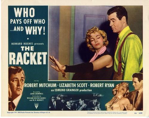 The Racket - 1951 - lobbycard 2