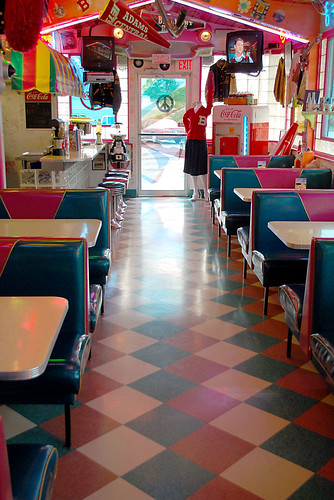 60 39 s diner decor brian wellman flickr for Decoration 60 s