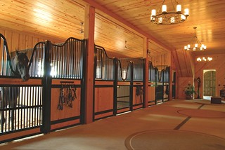 Heavenwood European Style horse stalls by Classic Equine | by Classic Equine Equipment