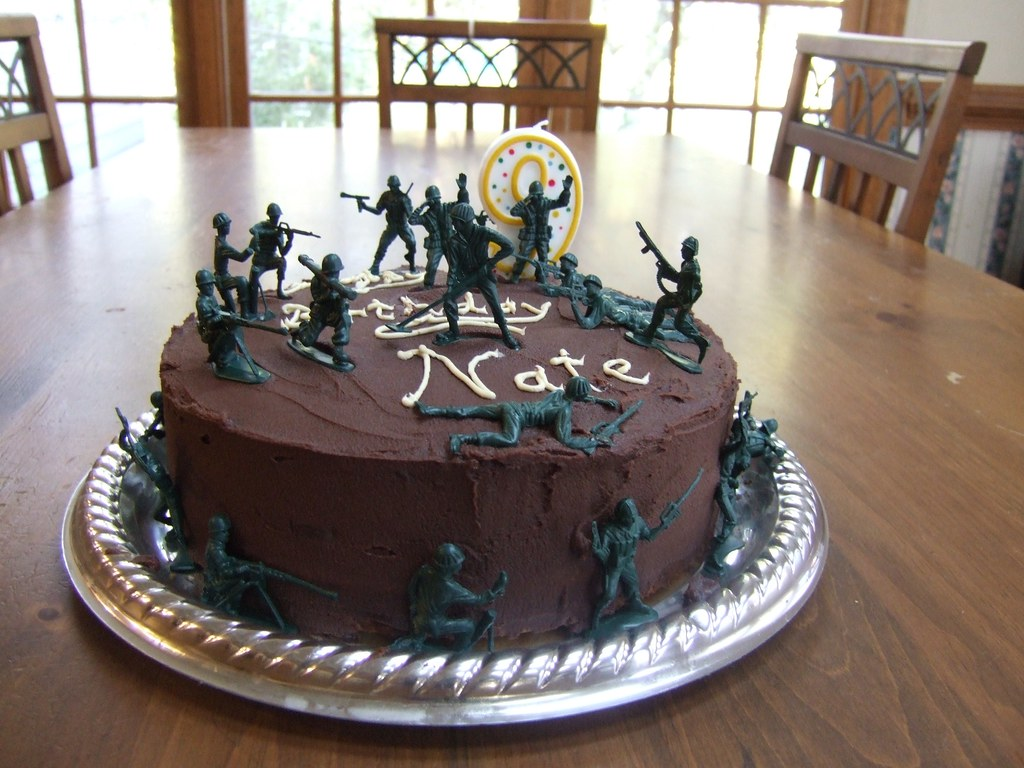 army cake Sarah G Flickr