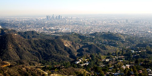 View of L.A. From Hollywood Sign | by Gary Rides Bikes