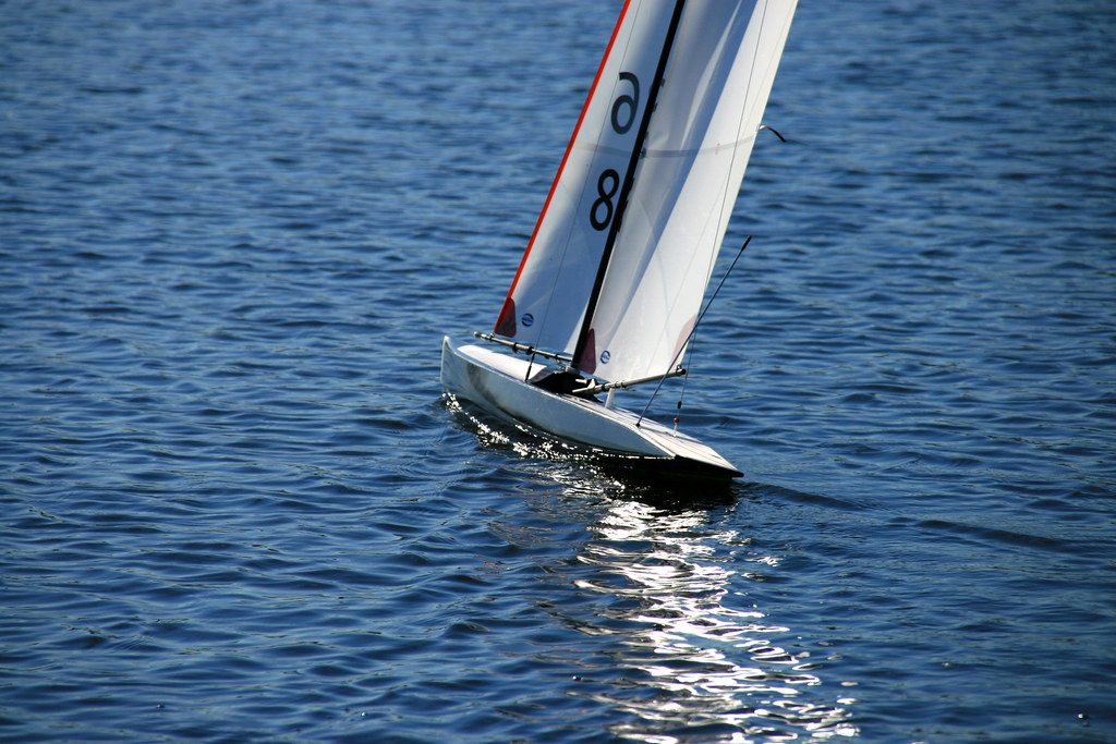 Rc Laser Class Sailboat Img 6153 Remote Controlled