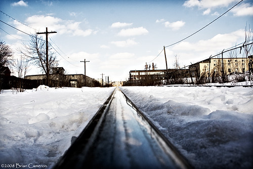 One Rail | by -- brian cameron --