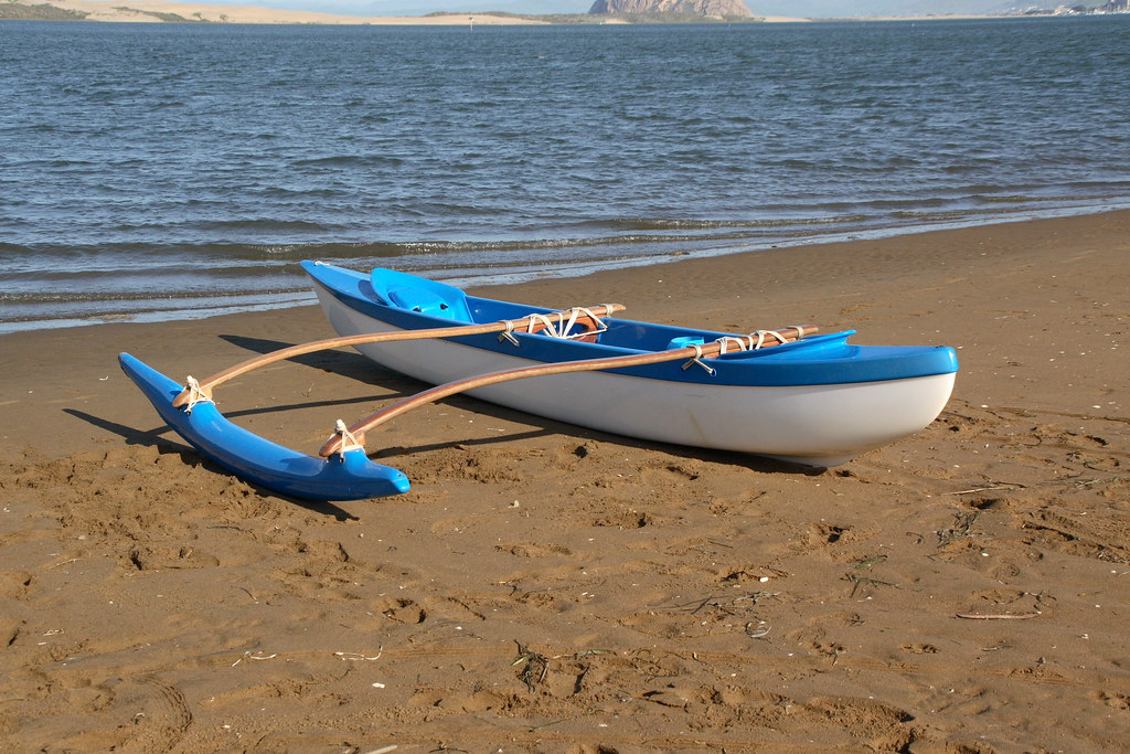 C Lion Outrigger Canoe Outrigger canoe...