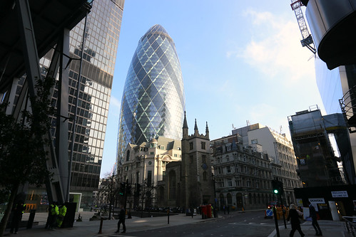 The Gherkin at St Andrew Undercroft