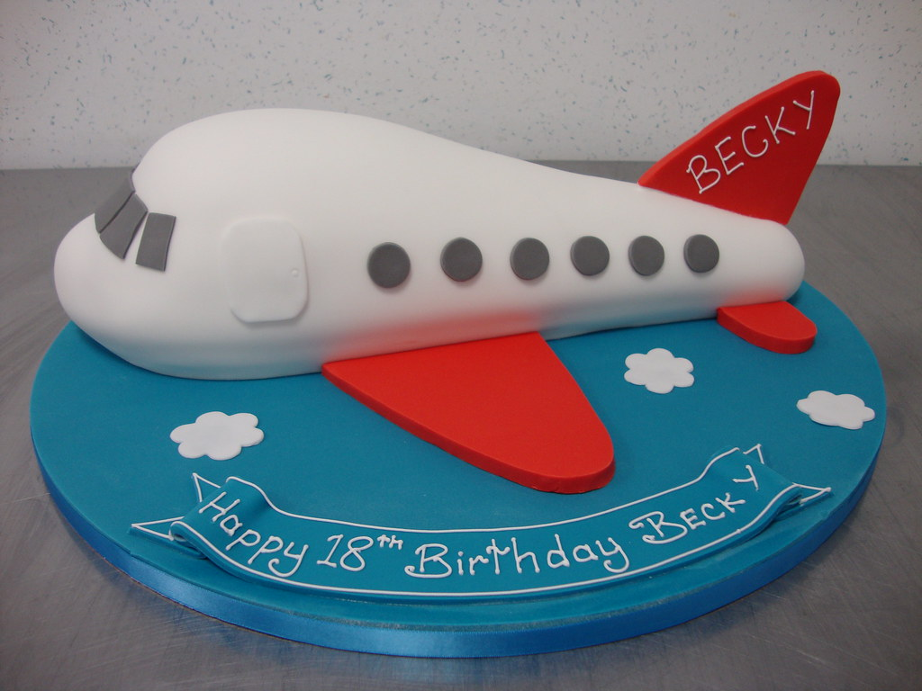 Birthday Cake Designs Airplane Prezup for