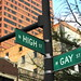 the corner of high and gay