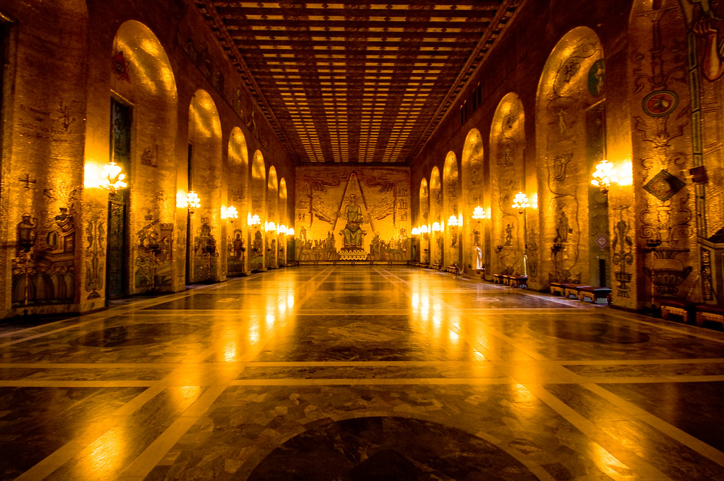 Gold | The Golden Hall - Stockholm\'s City Hall The Golden Ha… | Flickr