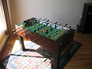 New Foosball Table Our Tornado Whirlwind Foosball Table