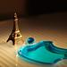 Eiffel Tower on a Mac - souveneirs and macro shots - 9362