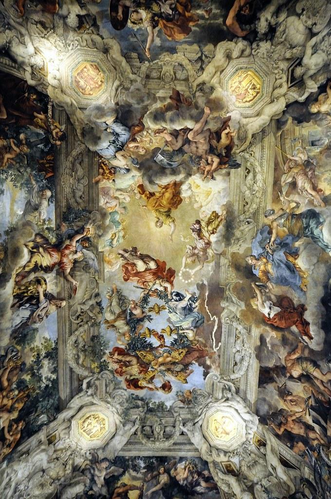 Soffitto Salone Bernini  Palazzo Barberini Roma  Flickr