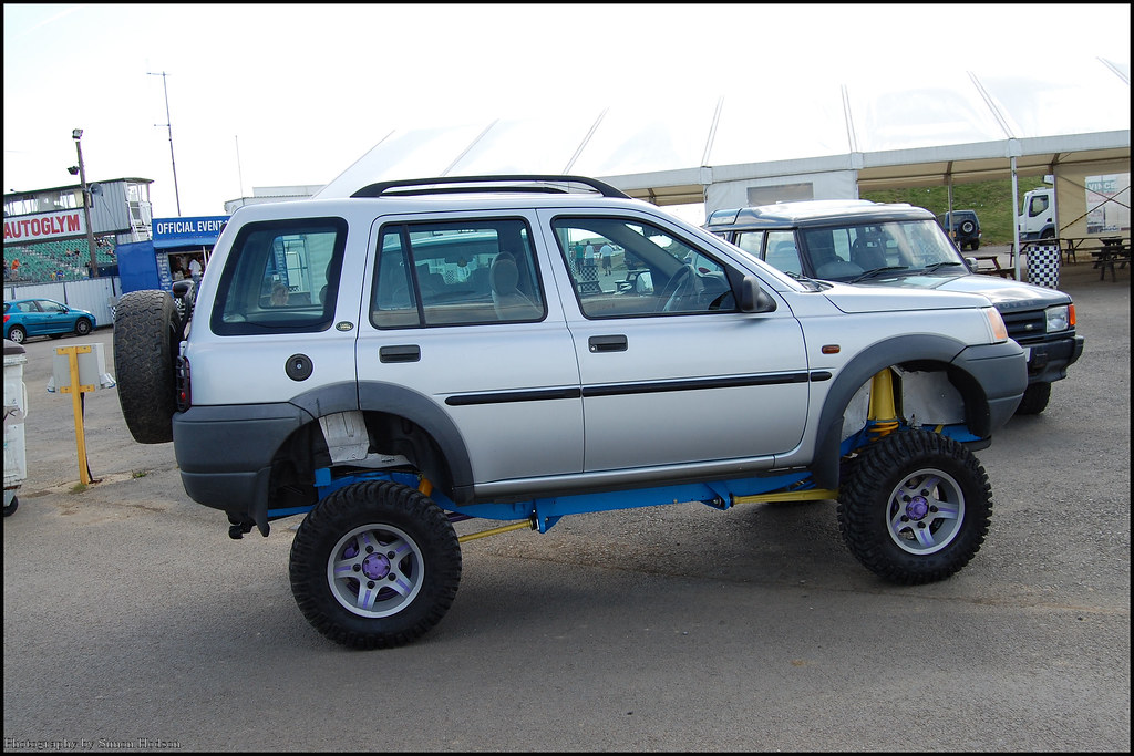 Off Road Power Santa Pod Land Rover Freelander Si Flickr