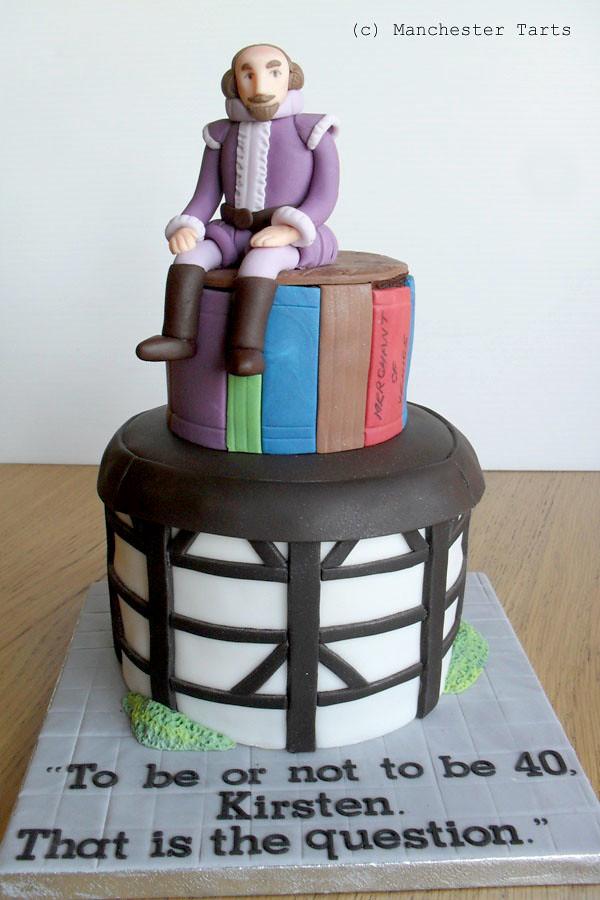 Celebration Cake Shakespeare And Globe Theatre Www