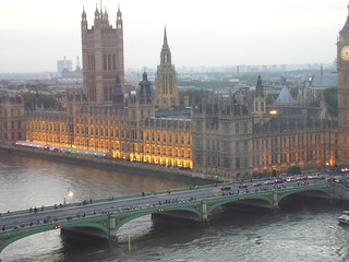 The houses of Parliament from London Eye | by Rocío Miron