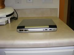 Toshiba Portege 4010 Back