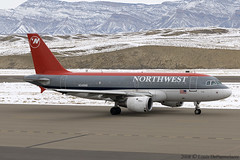 Airbus A-319 -- Northwest Airlines (N348NB) | by One Mile High Photography