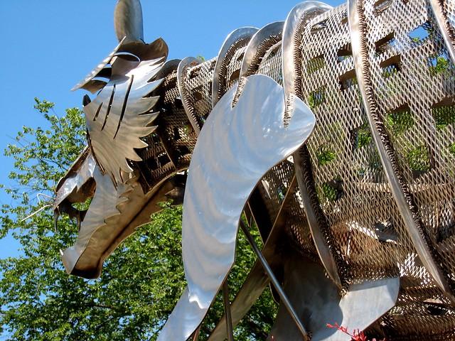 Princeton Metal Tiger Sculpture Explore Cogdogblog 39 S