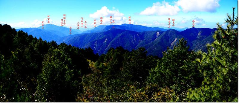 2821山頭巨岩展望點西南眺  1-1