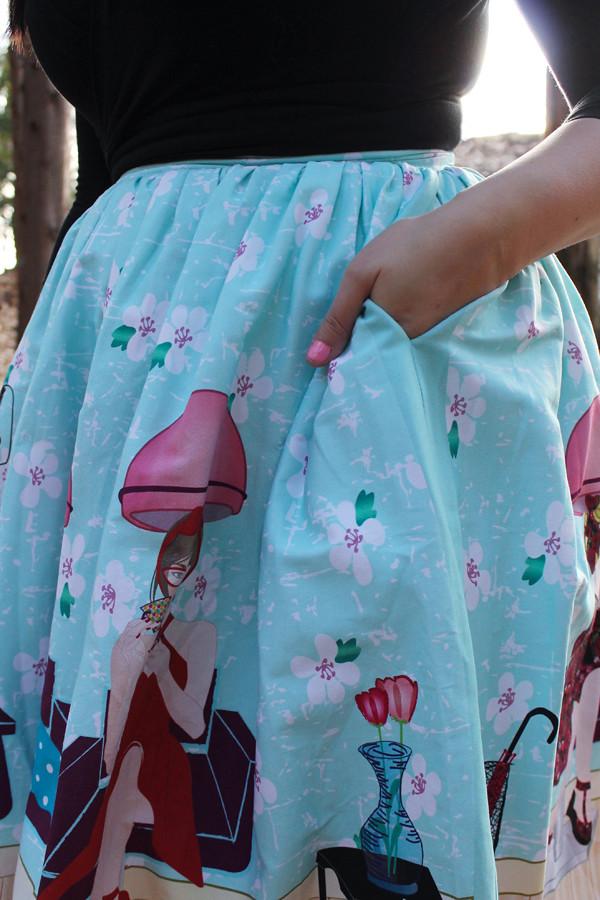 beauty salon skirt