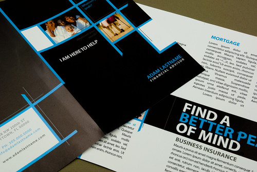 Financial Advisor Brochure | by inkdphotos