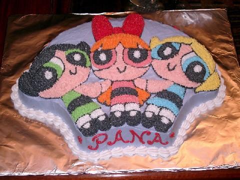 Powerpuff Girls Cake Pan