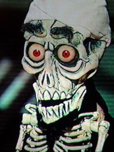 "Achmed the dead terrorist | spelled ""A...C...phlegm ..."